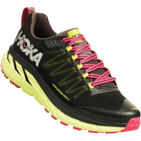 Hoka One One Challenger ATR 4 Running Shoes Women black/sharp green
